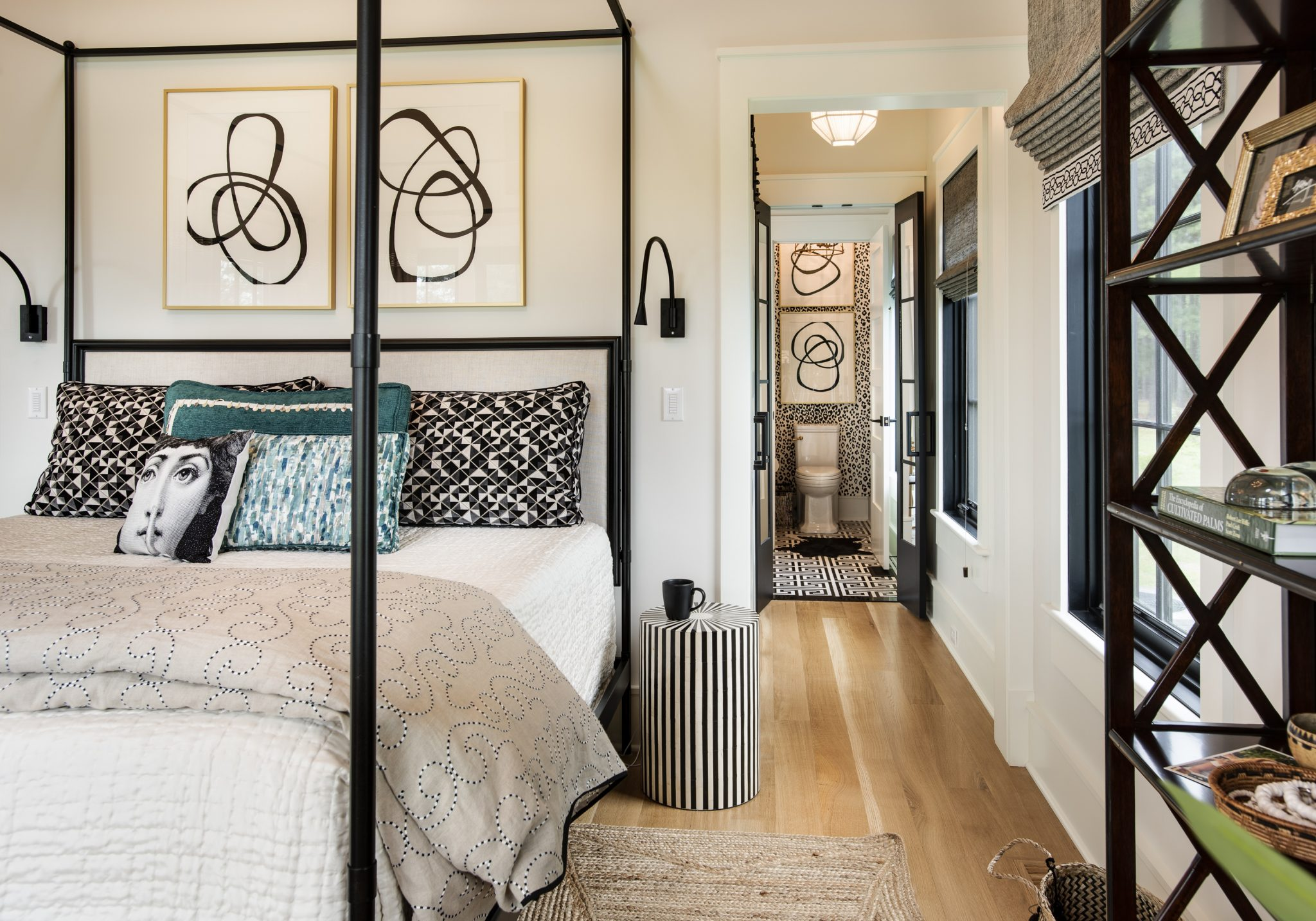 Modern Meets Classic Master Bedroom Black Eyed Susan