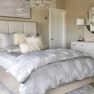fall asleep in luxury: newtown estate bedrooms